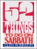 52 Things To Do On The Sabbath