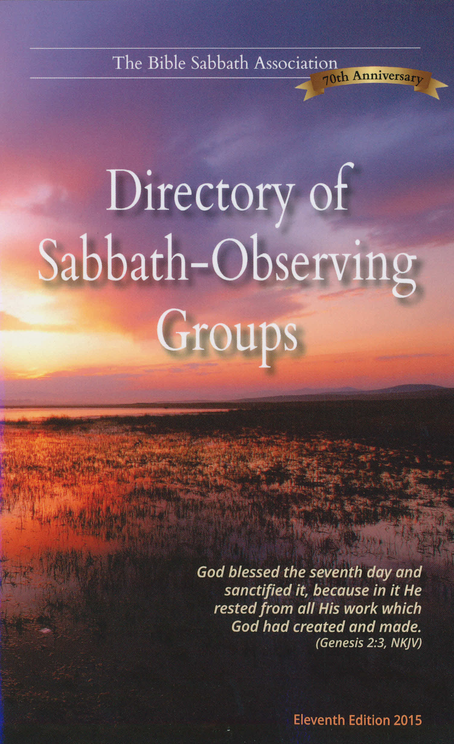 Directory of Sabbath- Observing Groups, Eleventh Edition